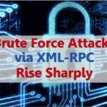 WordPress xmlrpc wp.getUsersBlogs attack
